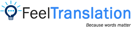Feel translation Logo